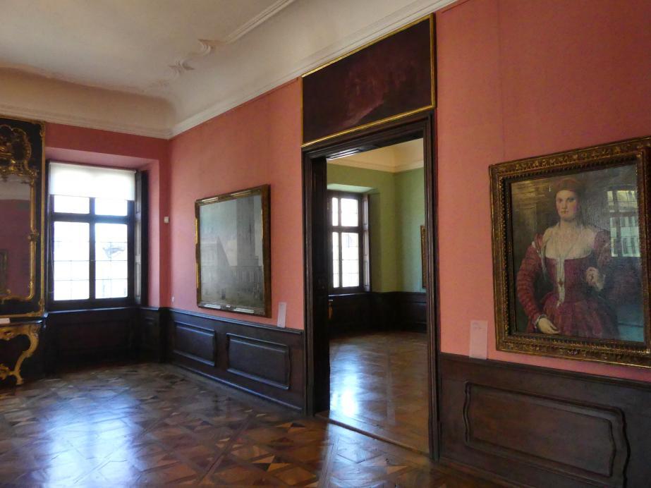 Augsburg, Deutsche Barockgalerie im Schaezlerpalais, Saal 28 - Haberstock-Stiftung: Malerie des 16. bis 20. Jahrhunderts, Bild 2/3