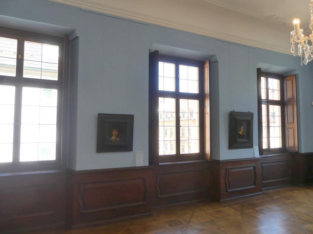 Augsburg, Deutsche Barockgalerie im Schaezlerpalais, Saal 29 - Haberstock-Stiftung: Malerie des 16. bis 20. Jahrhunderts, Bild 1/2