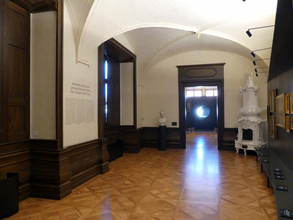 Prag, Nationalgalerie im Palais Schwarzenberg, 1. Obergeschoss, Saal 4, Bild 1/3