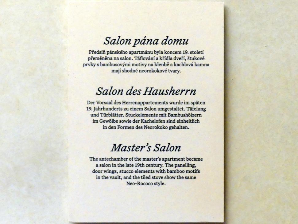 Prag, Nationalgalerie im Palais Schwarzenberg, 1. Obergeschoss, Saal 4, Bild 2/3