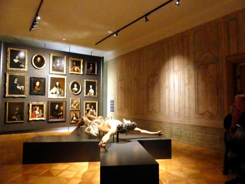 Prag, Nationalgalerie im Palais Schwarzenberg, 1. Obergeschoss, Saal 7, Bild 1/3