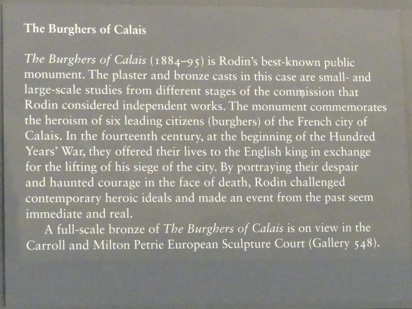 New York, Metropolitan Museum of Art (Met), Saal 800, Bild 4/8