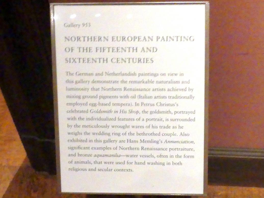 New York, Metropolitan Museum of Art (Met), Saal 953, Bild 2/3