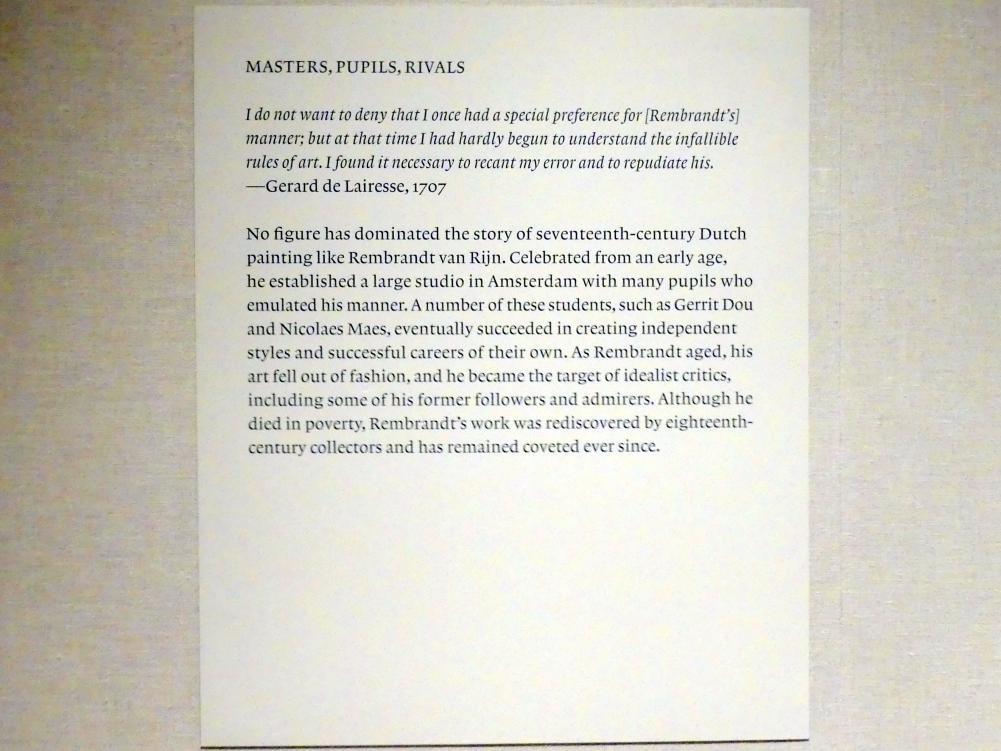 New York, Metropolitan Museum of Art (Met), Saal 964, Bild 9/17