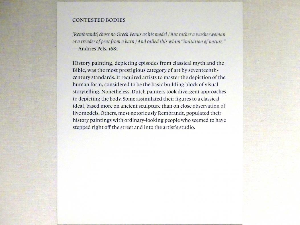 New York, Metropolitan Museum of Art (Met), Saal 964, Bild 12/17
