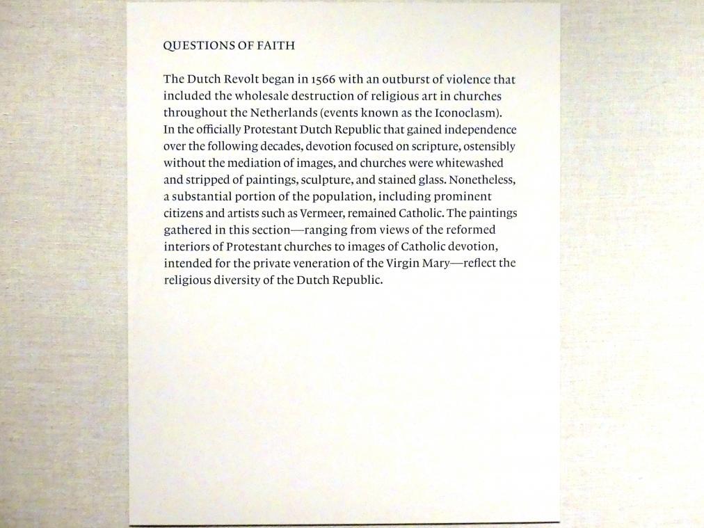 New York, Metropolitan Museum of Art (Met), Saal 964, Bild 16/17