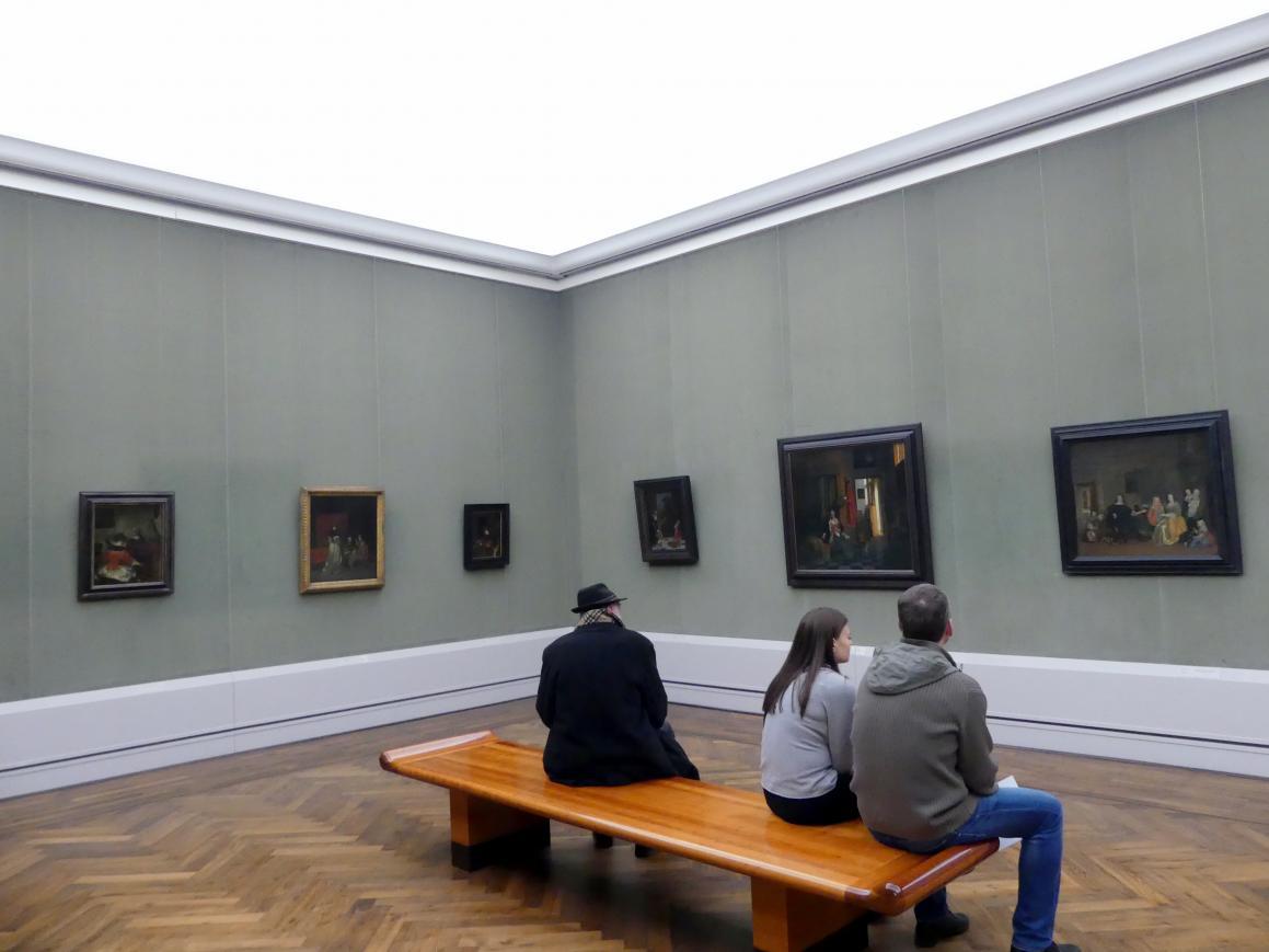 """Berlin, Staatliche Museen, Gemäldegalerie (""""Berliner Wunder""""), Kabinett 18"""