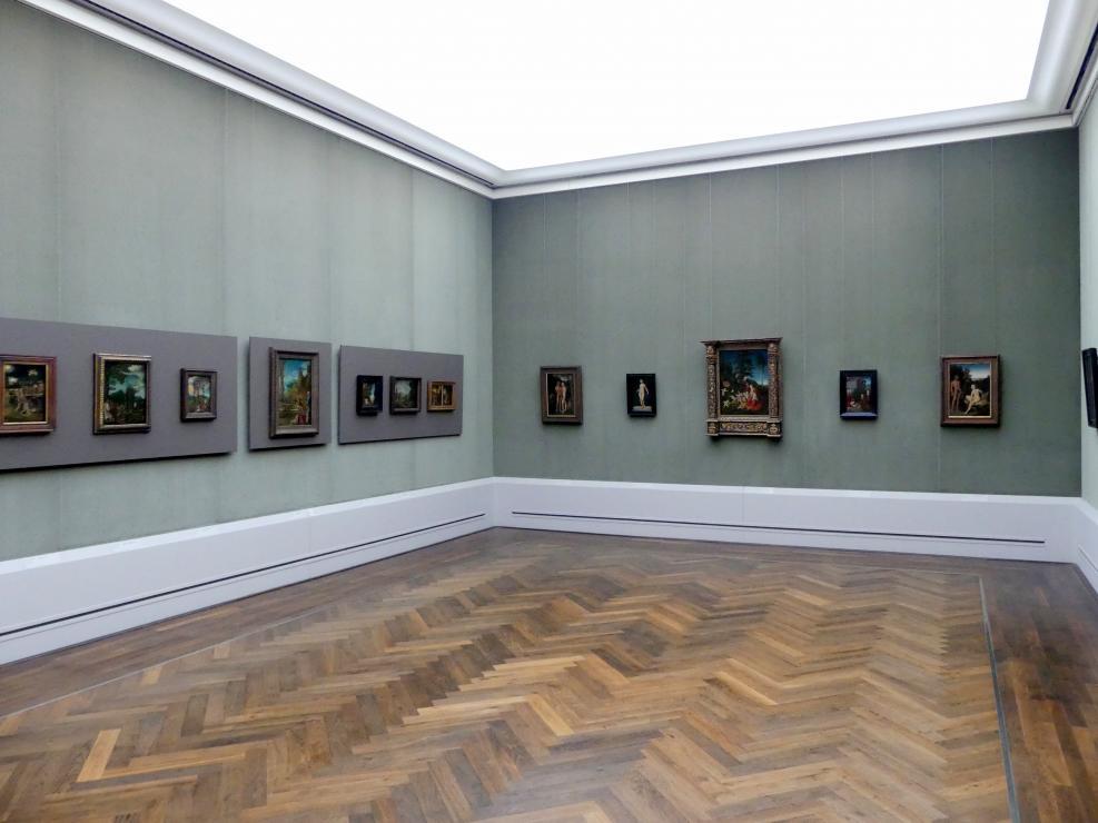 """Berlin, Staatliche Museen, Gemäldegalerie (""""Berliner Wunder""""), Kabinett 3"""