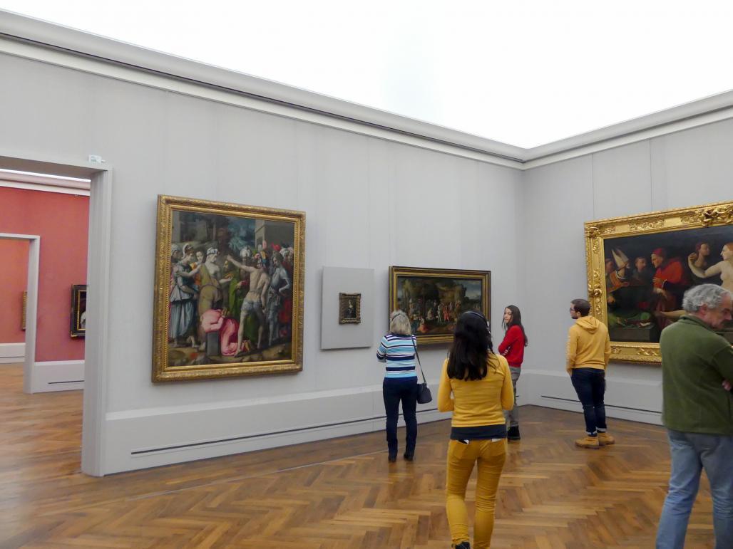 """Berlin, Gemäldegalerie (""""Berliner Wunder""""), Kabinett 30, Bild 1/2"""