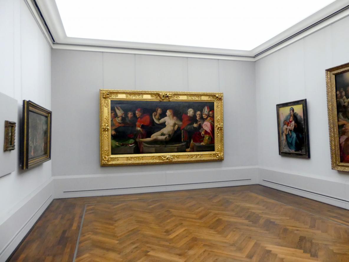 """Berlin, Gemäldegalerie (""""Berliner Wunder""""), Kabinett 30, Bild 2/2"""