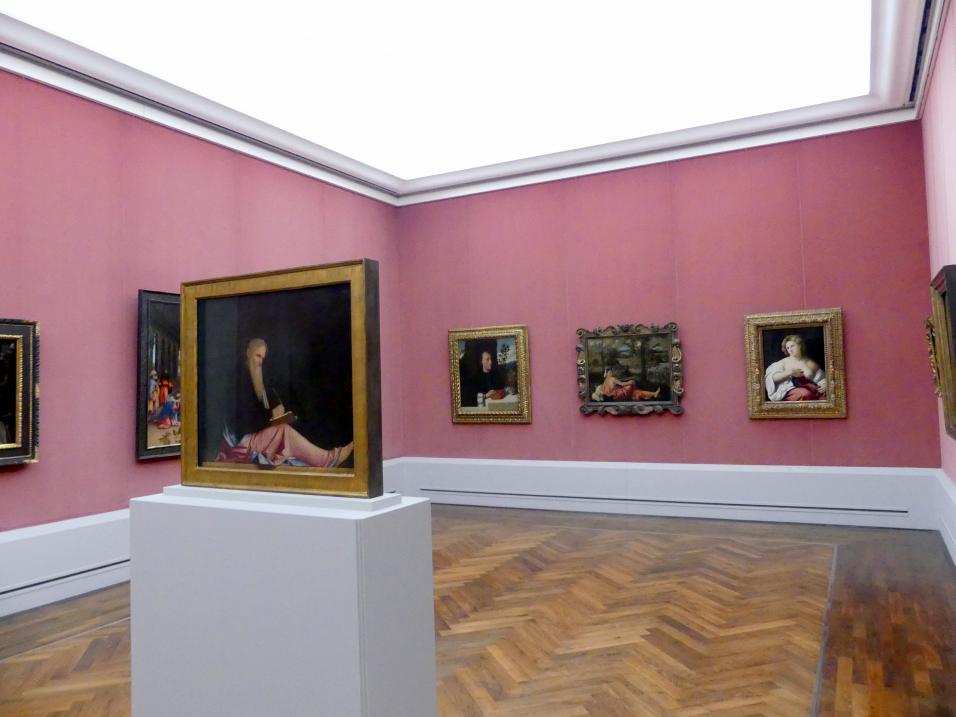 """Berlin, Staatliche Museen, Gemäldegalerie (""""Berliner Wunder""""), Kabinett 31"""