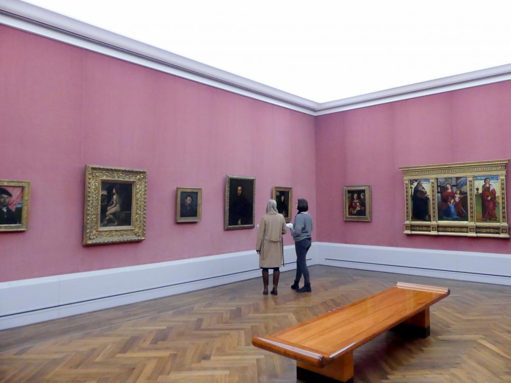 """Berlin, Staatliche Museen, Gemäldegalerie (""""Berliner Wunder""""), Kabinett 32"""