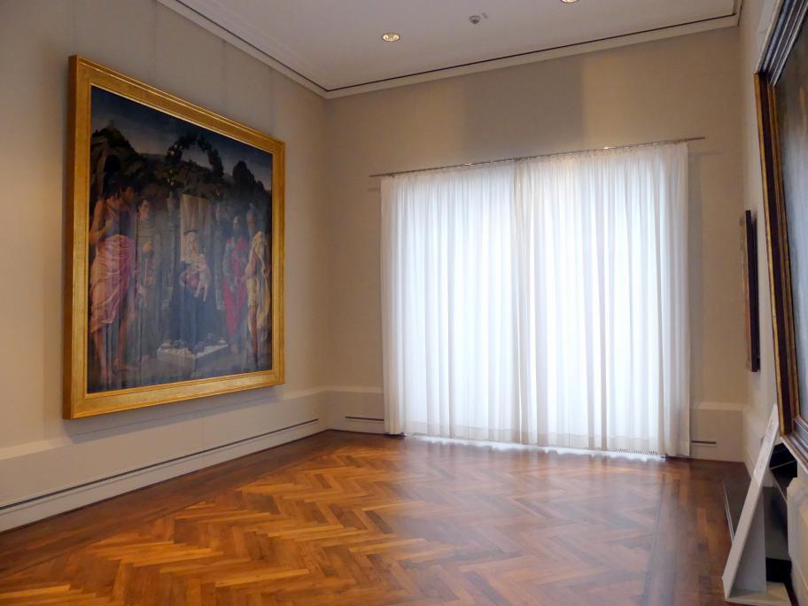"""Berlin, Staatliche Museen, Gemäldegalerie (""""Berliner Wunder""""), Kabinett 36"""