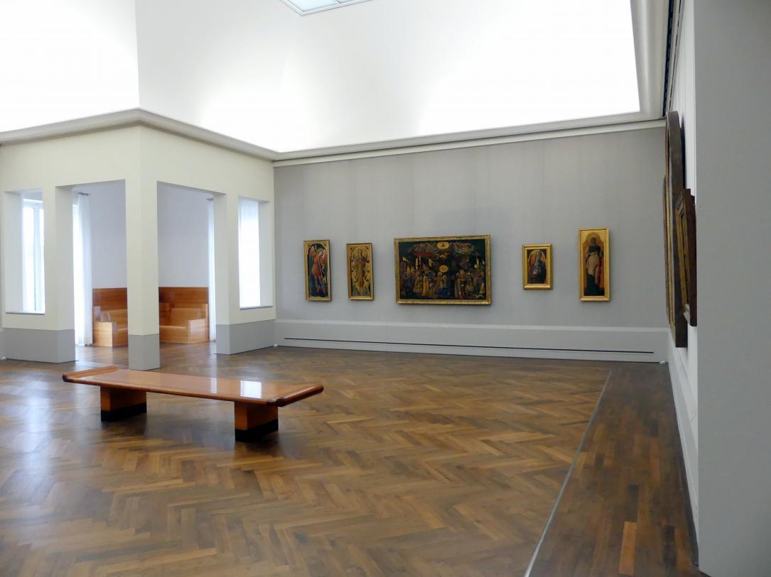 """Berlin, Staatliche Museen, Gemäldegalerie (""""Berliner Wunder""""), Kabinett 37"""