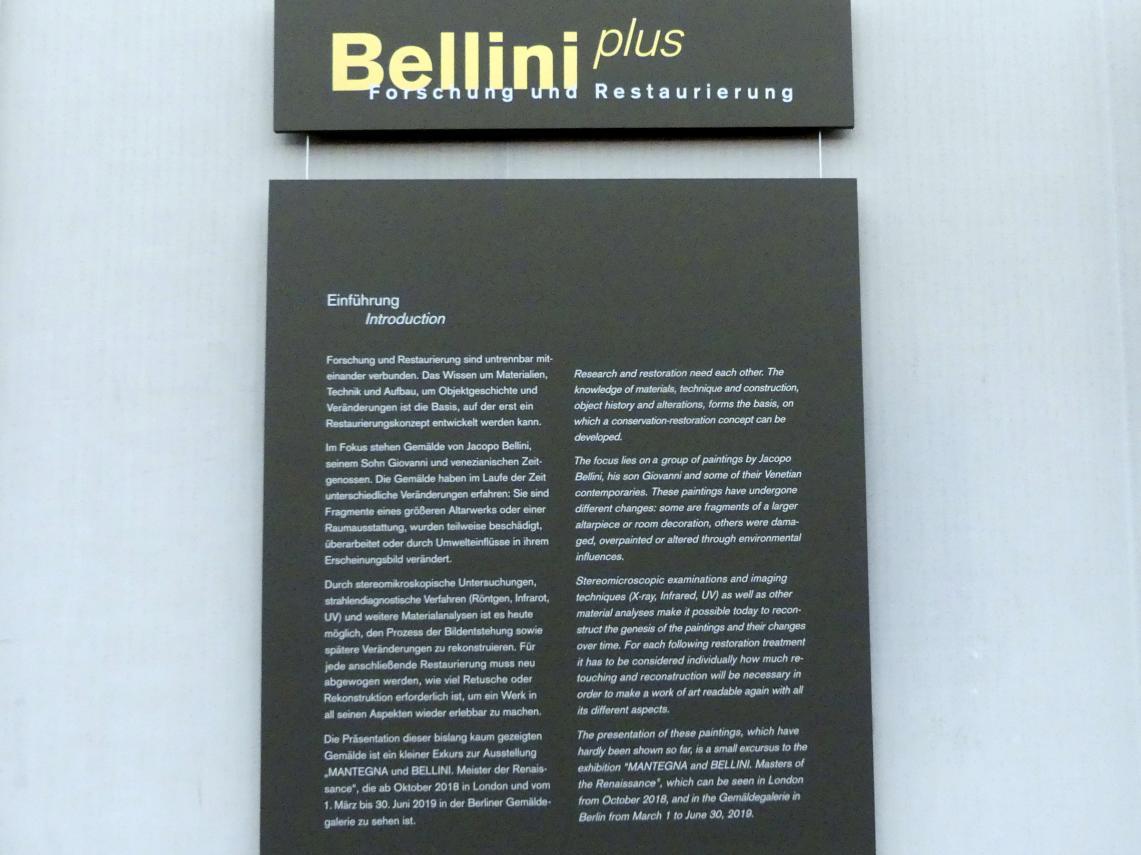 """Berlin, Gemäldegalerie (""""Berliner Wunder""""), Kabinett 38, Bild 2/2"""