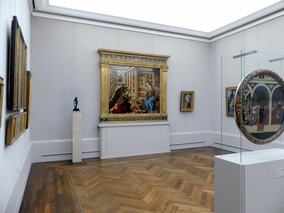 """Berlin, Staatliche Museen, Gemäldegalerie (""""Berliner Wunder""""), Kabinett 39"""