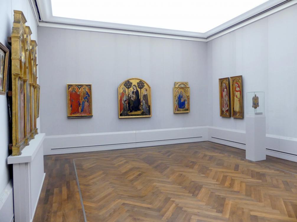 """Berlin, Staatliche Museen, Gemäldegalerie (""""Berliner Wunder""""), Kabinett 40"""