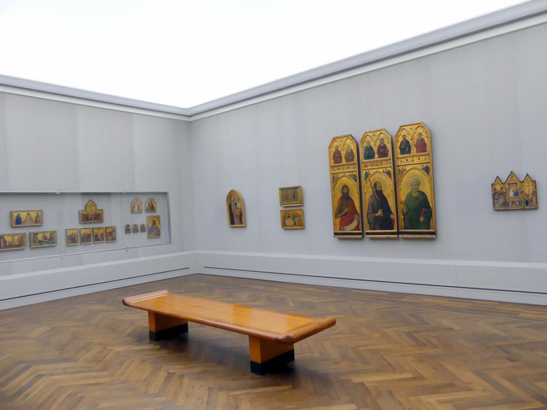 """Berlin, Staatliche Museen, Gemäldegalerie (""""Berliner Wunder""""), Kabinett 41"""