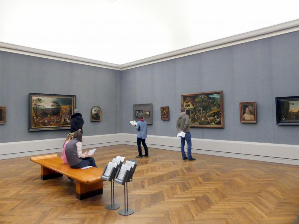 "Berlin, Gemäldegalerie (""Berliner Wunder""), Kabinett 7"