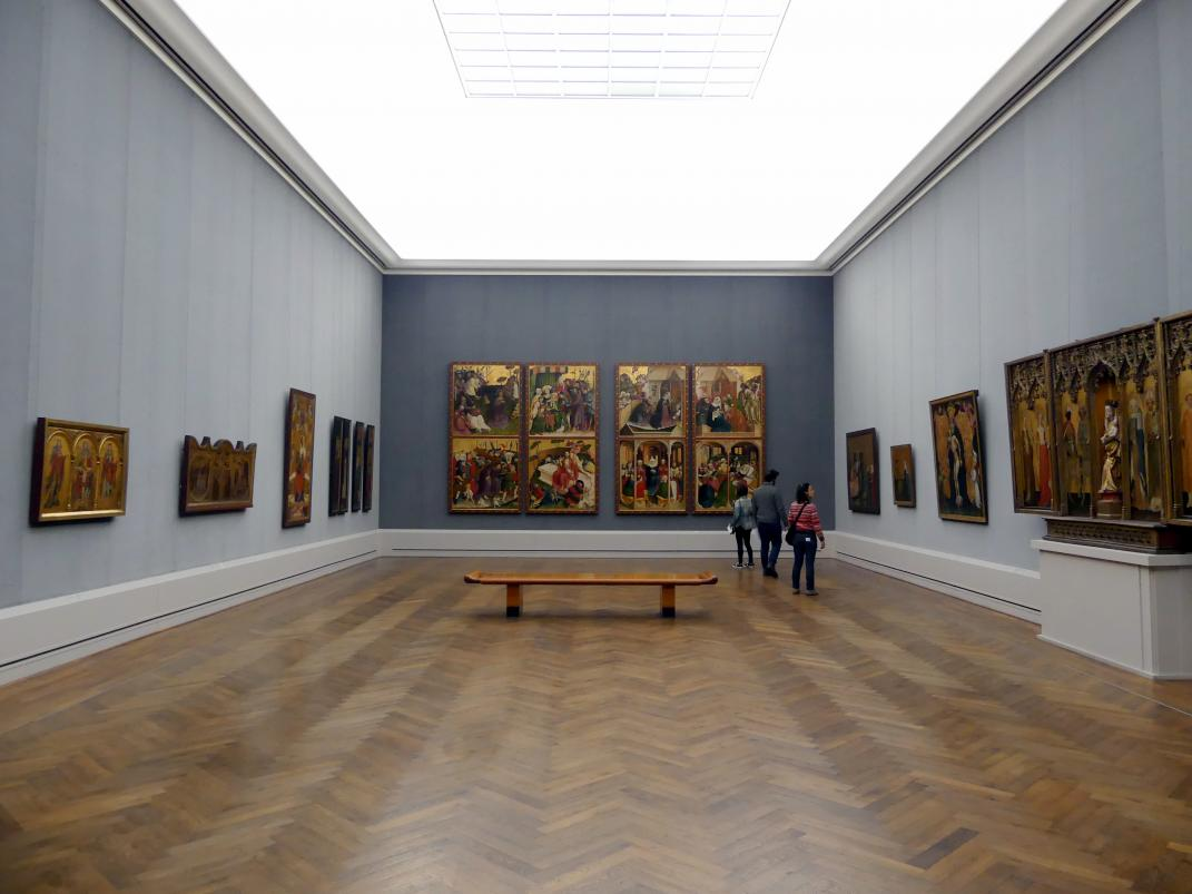 """Berlin, Staatliche Museen, Gemäldegalerie (""""Berliner Wunder""""), Saal I"""