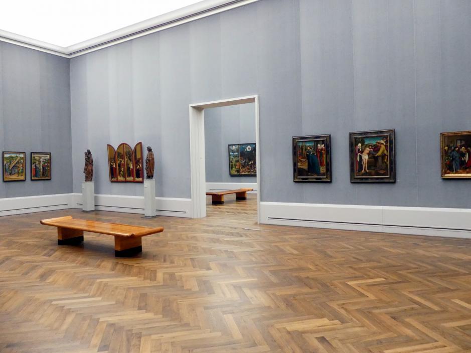 """Berlin, Staatliche Museen, Gemäldegalerie (""""Berliner Wunder""""), Saal II"""