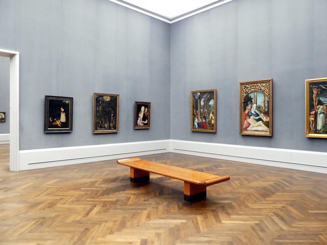 """Berlin, Staatliche Museen, Gemäldegalerie (""""Berliner Wunder""""), Saal III"""