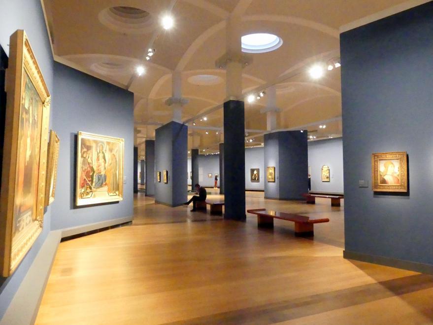 """Berlin, Staatliche Museen, Gemäldegalerie (""""Berliner Wunder""""), Wandelhalle"""