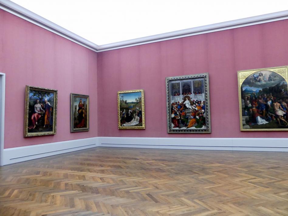 """Berlin, Gemäldegalerie (""""Berliner Wunder""""), Saal XVII"""