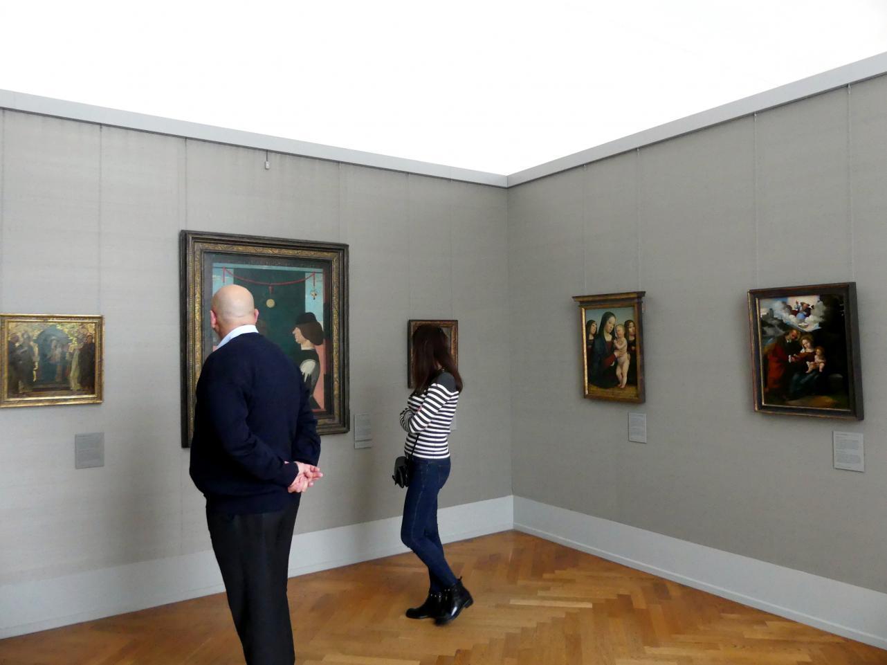 München, Alte Pinakothek, Obergeschoss Kabinett 4-7, Bild 1/4