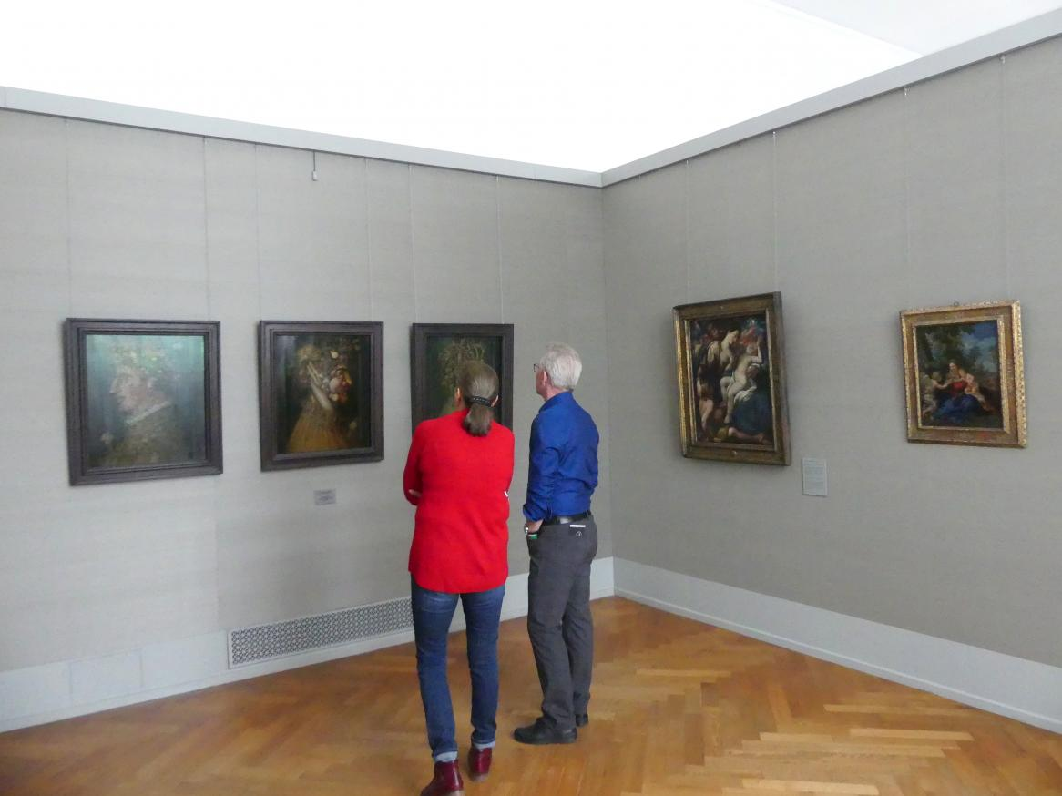 München, Alte Pinakothek, Obergeschoss Kabinett 4-7, Bild 3/4