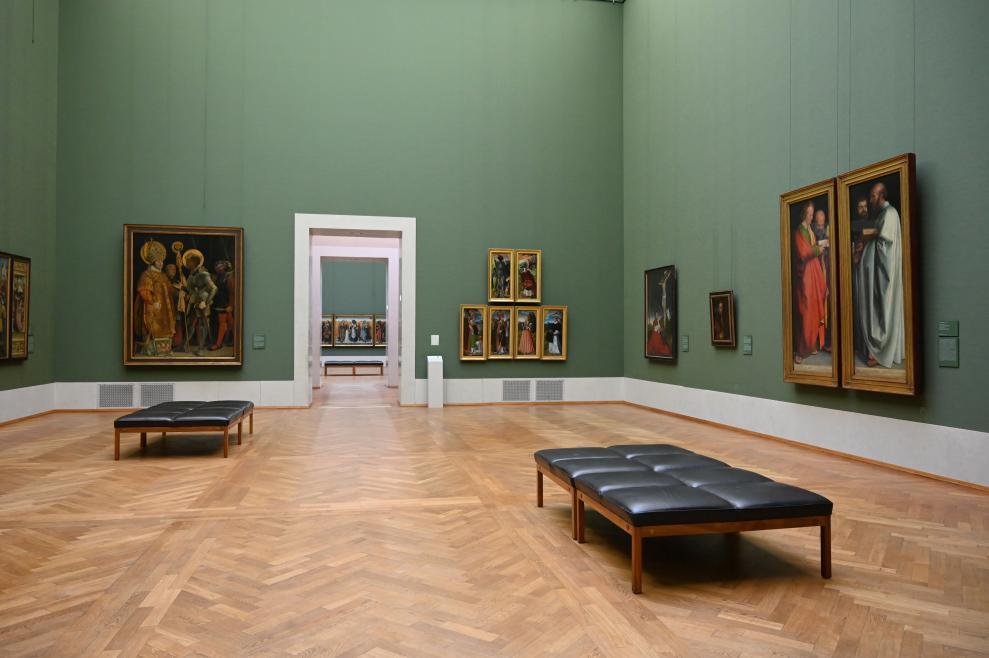 München, Alte Pinakothek, Obergeschoss Saal II, Bild 1/3