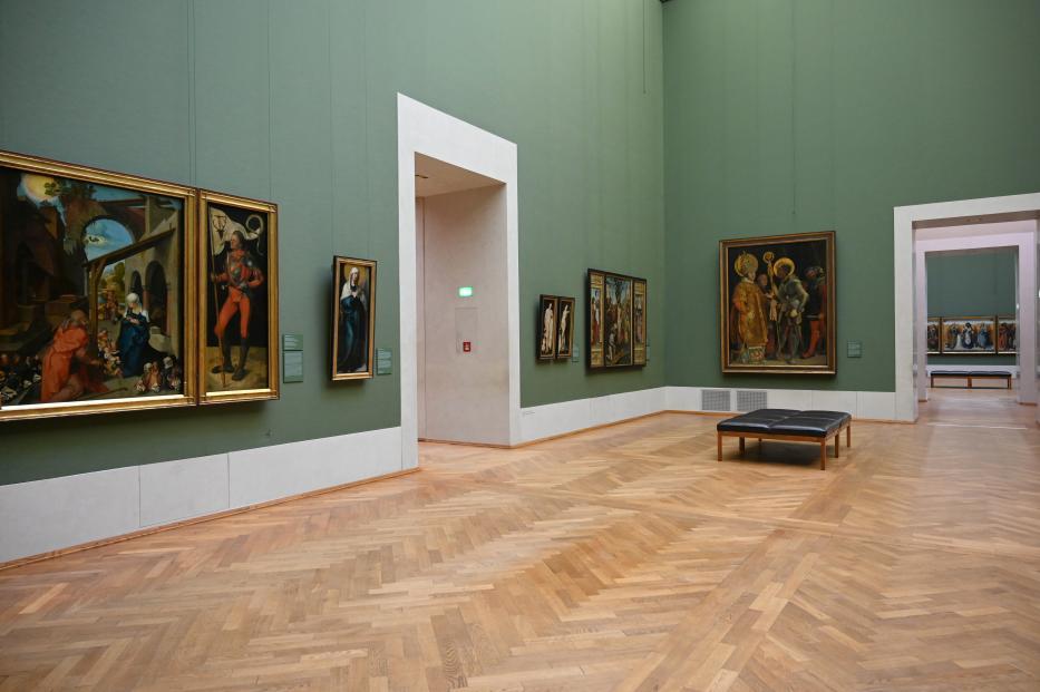 München, Alte Pinakothek, Obergeschoss Saal II, Bild 2/3