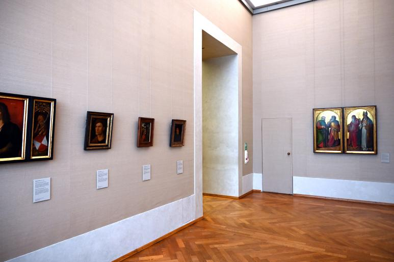 München, Alte Pinakothek, Obergeschoss Saal IIb, Bild 1/2