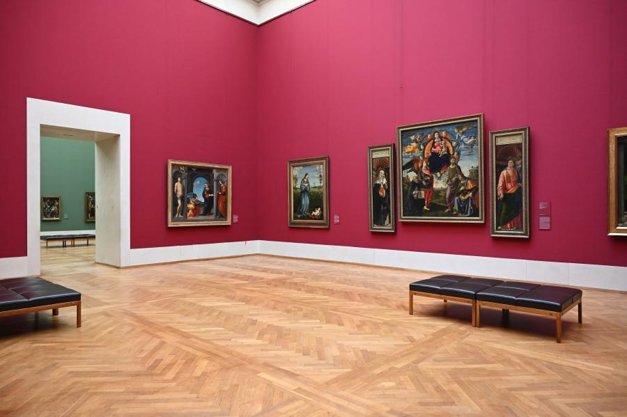 München, Alte Pinakothek, Obergeschoss Saal IV