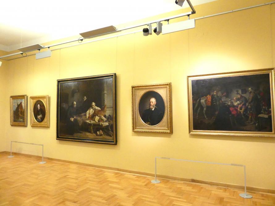 Breslau, Nationalmuseum, 1. OG, schlesische Kunst 17.-19. Jhd., Saal 2, Bild 1/3