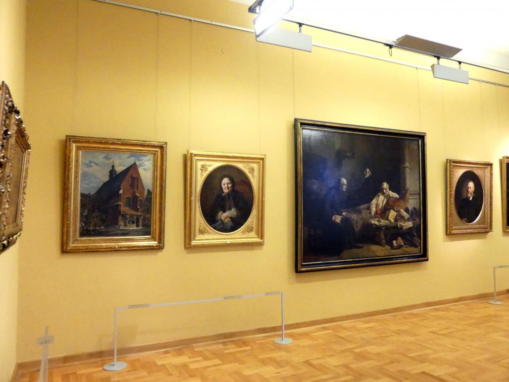 Breslau, Nationalmuseum, 1. OG, schlesische Kunst 17.-19. Jhd., Saal 2, Bild 2/3