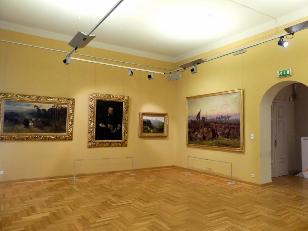 Breslau, Nationalmuseum, 1. OG, schlesische Kunst 17.-19. Jhd., Saal 3, Bild 2/3