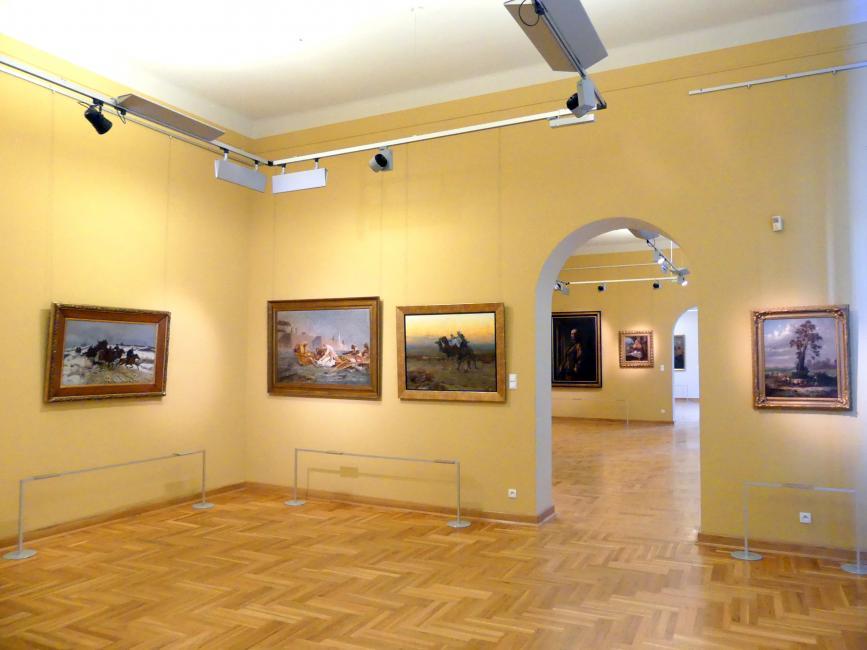 Breslau, Nationalmuseum, 1. OG, schlesische Kunst 17.-19. Jhd., Saal 3, Bild 3/3