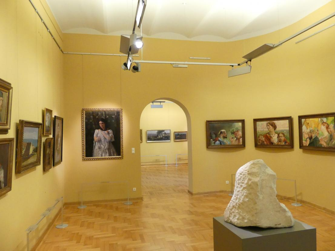 Breslau, Nationalmuseum, 1. OG, schlesische Kunst 17.-19. Jhd., Saal 5, Bild 2/2