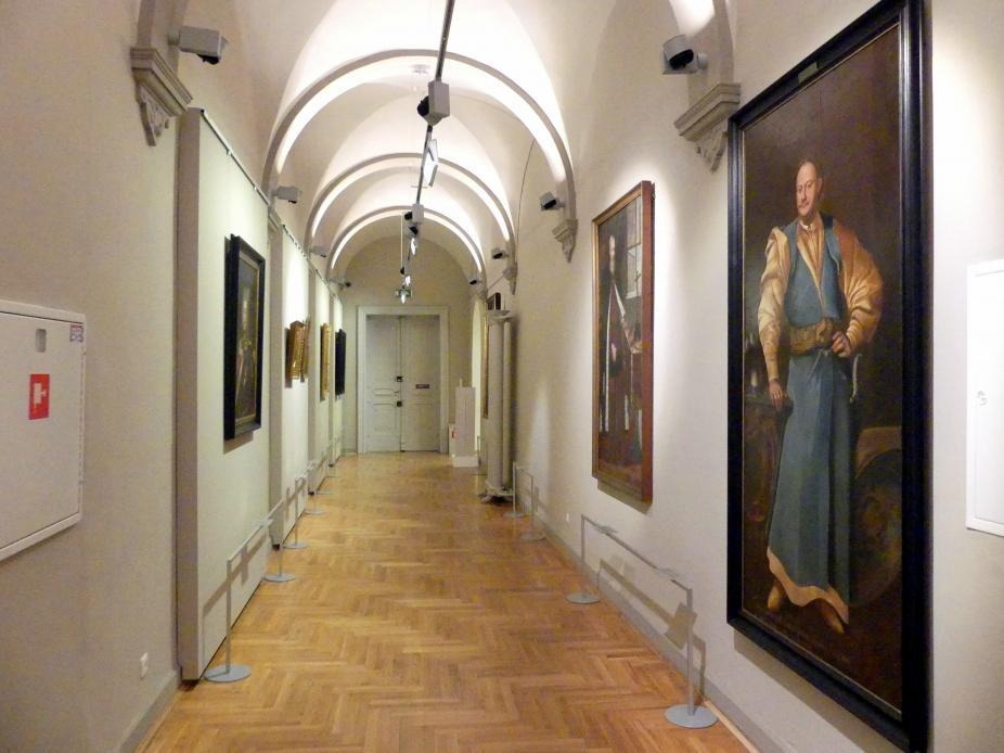 Breslau, Nationalmuseum, 1. OG, schlesische Kunst 17.-19. Jhd., Gang