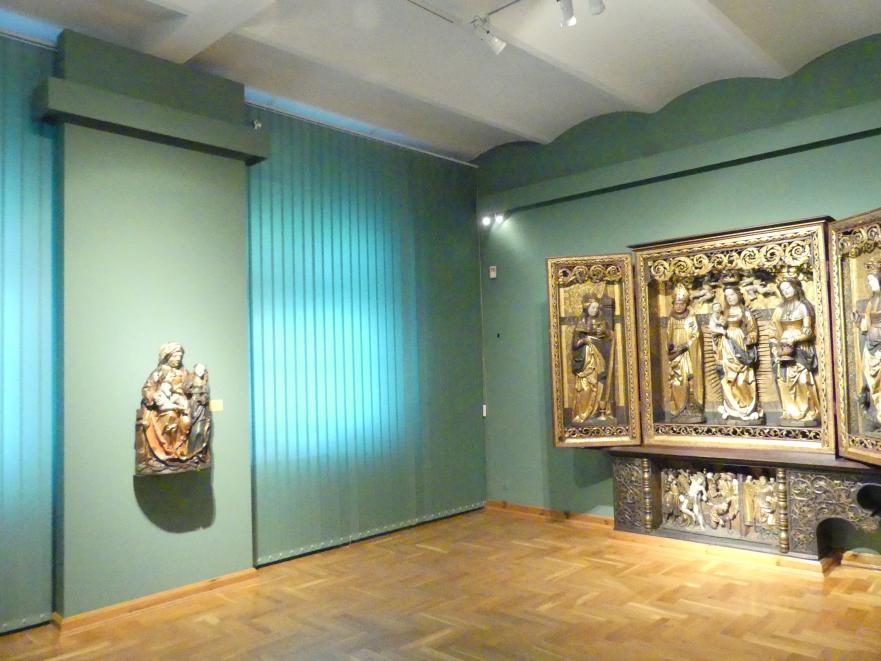 Breslau, Nationalmuseum, 1. OG, schlesische Kunst 14.-16. Jhd., Saal 10