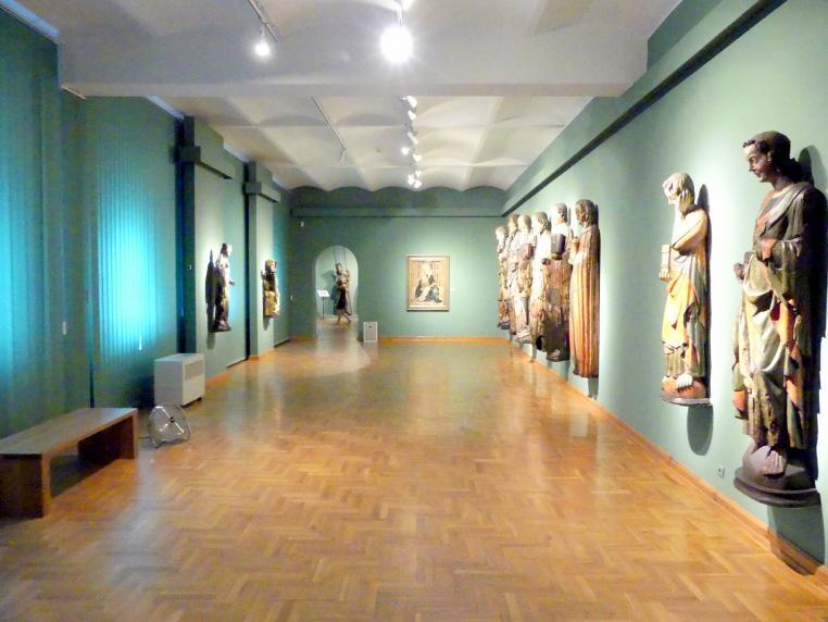 Breslau, Nationalmuseum, 1. OG, schlesische Kunst 14.-16. Jhd., Saal 2