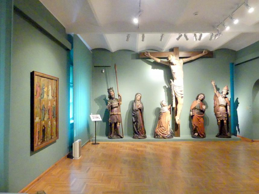 Breslau, Nationalmuseum, 1. OG, schlesische Kunst 14.-16. Jhd., Saal 3, Bild 1/3