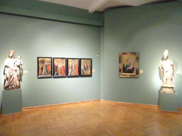 Breslau, Nationalmuseum, 1. OG, schlesische Kunst 14.-16. Jhd., Saal 3, Bild 3/3