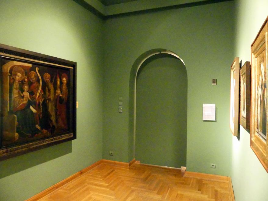 Breslau, Nationalmuseum, 1. OG, schlesische Kunst 14.-16. Jhd., Saal 4