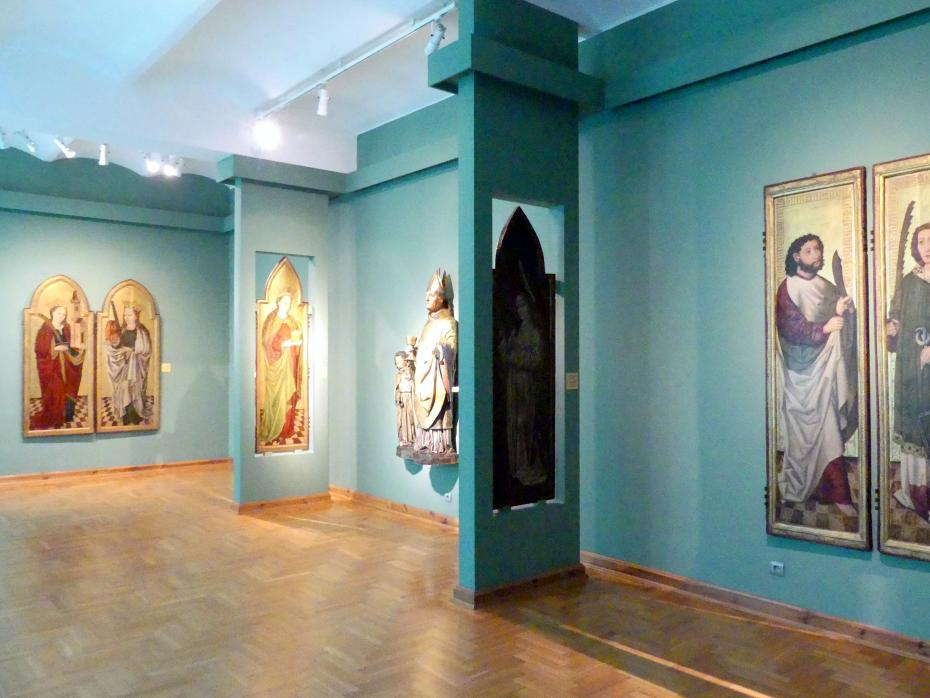 Breslau, Nationalmuseum, 1. OG, schlesische Kunst 14.-16. Jhd., Saal 5