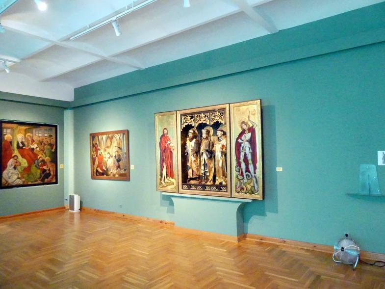 Breslau, Nationalmuseum, 1. OG, schlesische Kunst 14.-16. Jhd., Saal 6, Bild 1/4