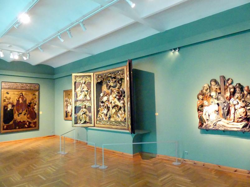 Breslau, Nationalmuseum, 1. OG, schlesische Kunst 14.-16. Jhd., Saal 6, Bild 2/4
