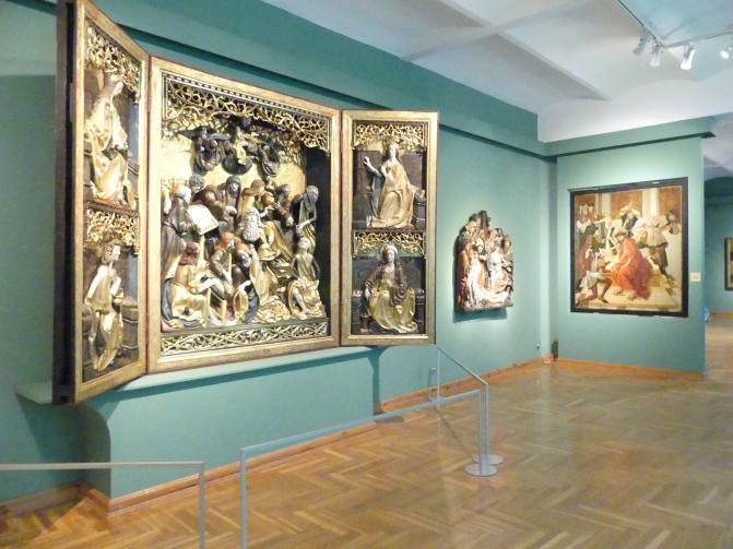 Breslau, Nationalmuseum, 1. OG, schlesische Kunst 14.-16. Jhd., Saal 6, Bild 3/4