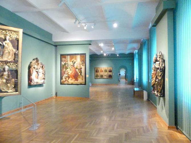 Breslau, Nationalmuseum, 1. OG, schlesische Kunst 14.-16. Jhd., Saal 6